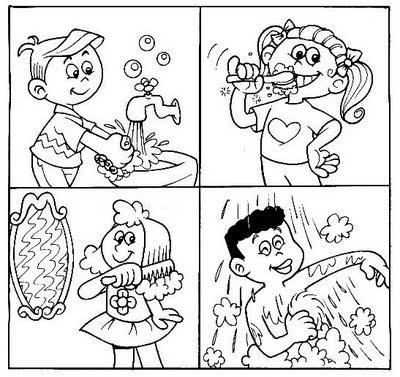 Coloriage hygiène