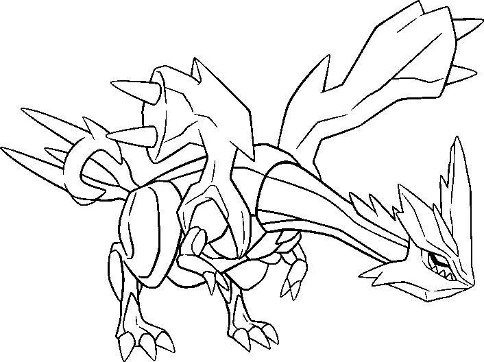 Coloriage pokemon ex