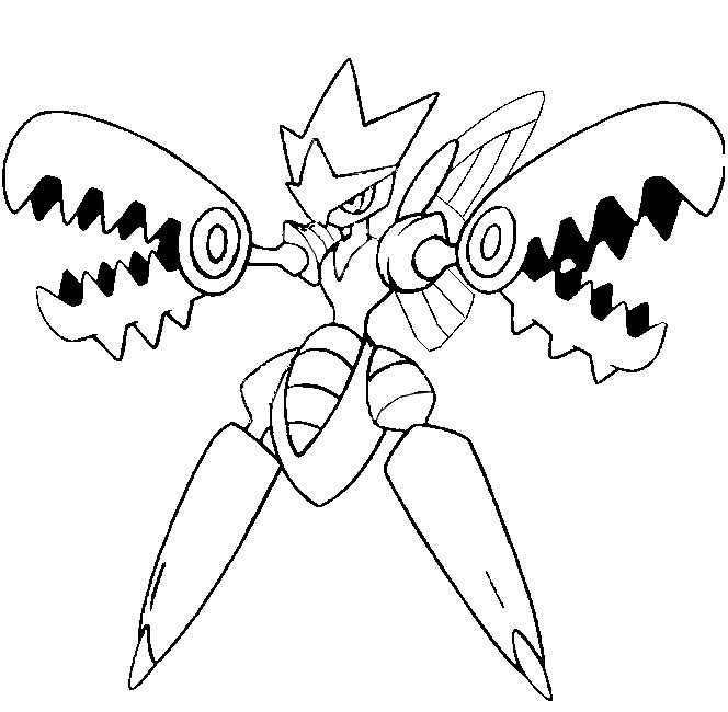 Coloriage pokemon mega evolution ancenscp - Dessin pokemon ex ...