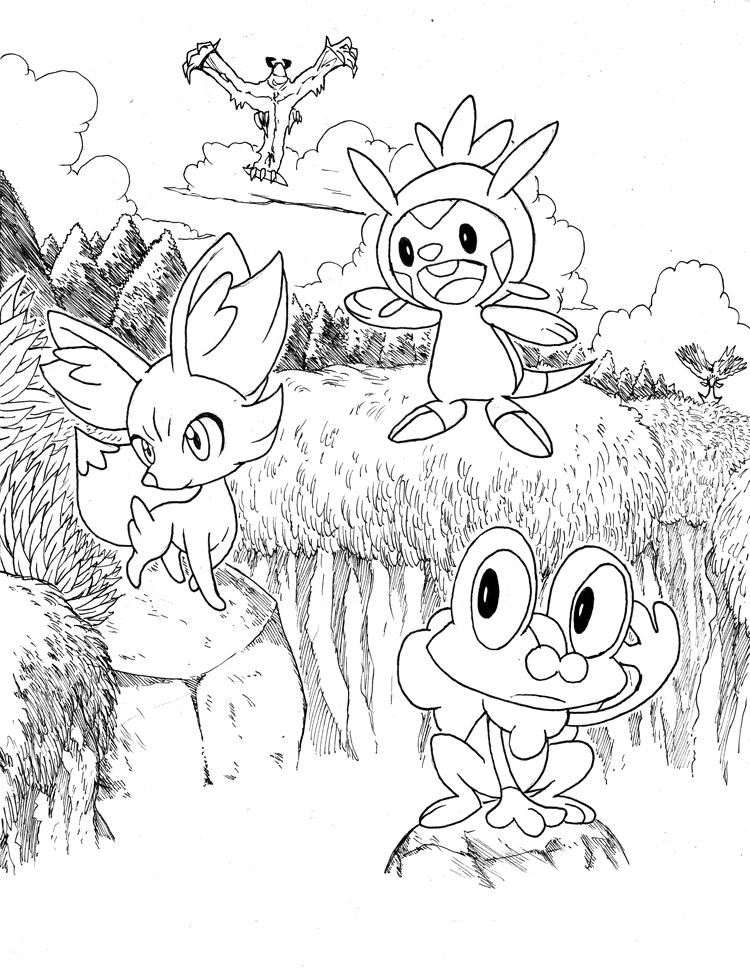 Coloriage pokemon xyz ancenscp - Coloriage pokemon xyz ...